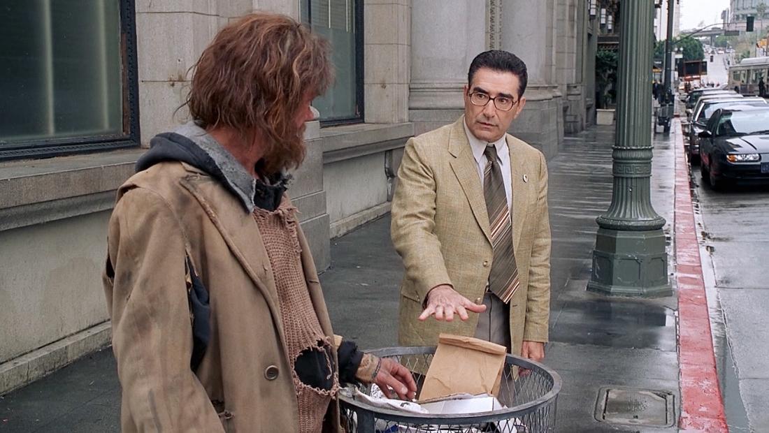 Một tình huống hài hước trong phim ''The Man''.