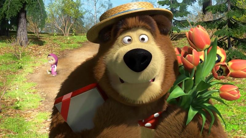 Spring time for bear