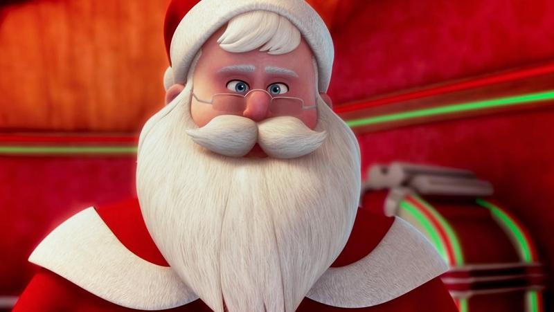 Một cảnh trong phim 'Saving Santa'