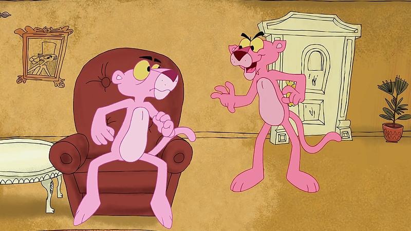 Một cảnh trong phim 'Pink Panther and Pals'