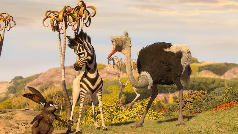 Khumba đang trên đường tìm kiếm nửa sọc vằn còn lại của mình.