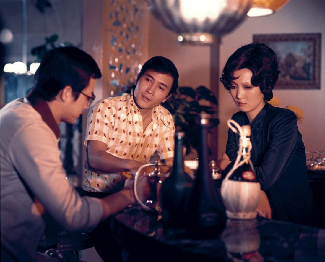 Ba nhân vật Chung Bình, Chấn Thạch và Thôi Linh.