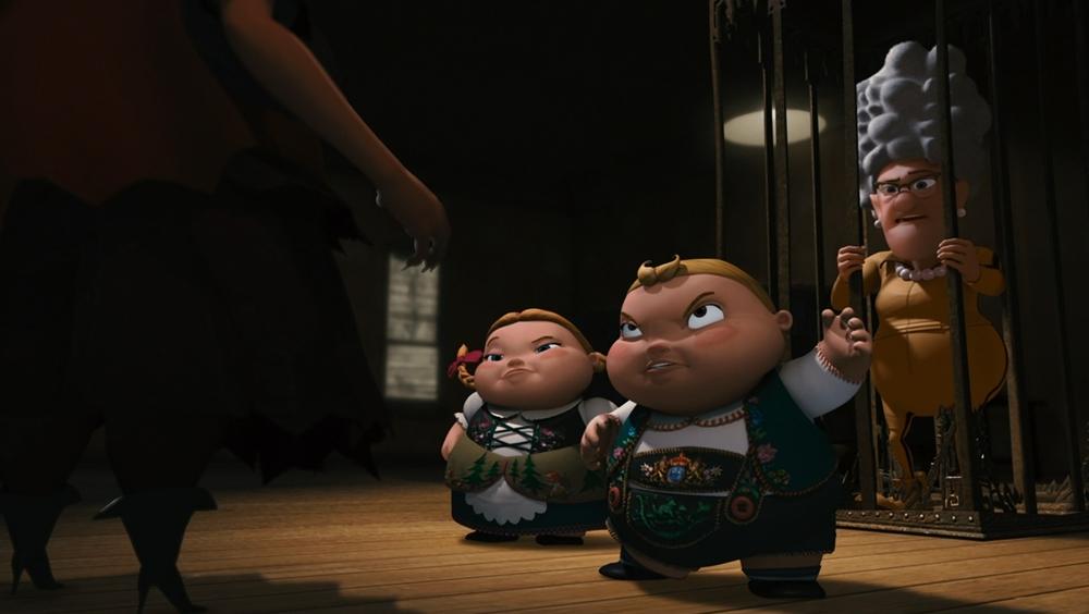 Một phân cảnh khác trong phim ''Hoodwinked Too! Hood Vs. Evil''
