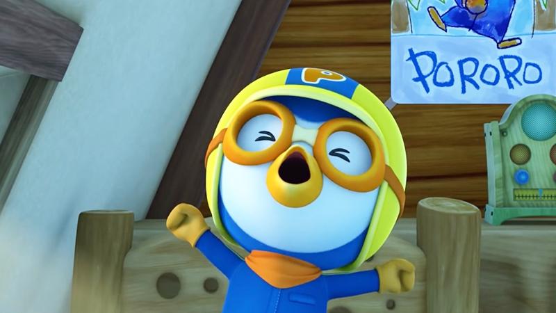 Một cảnh trong phim 'Pororo the Little Penguin'