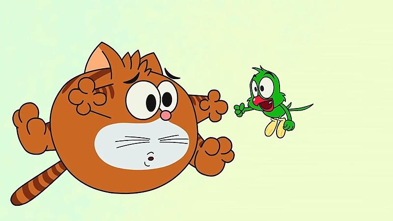 Một cảnh trong phim 'Cat & Keet'