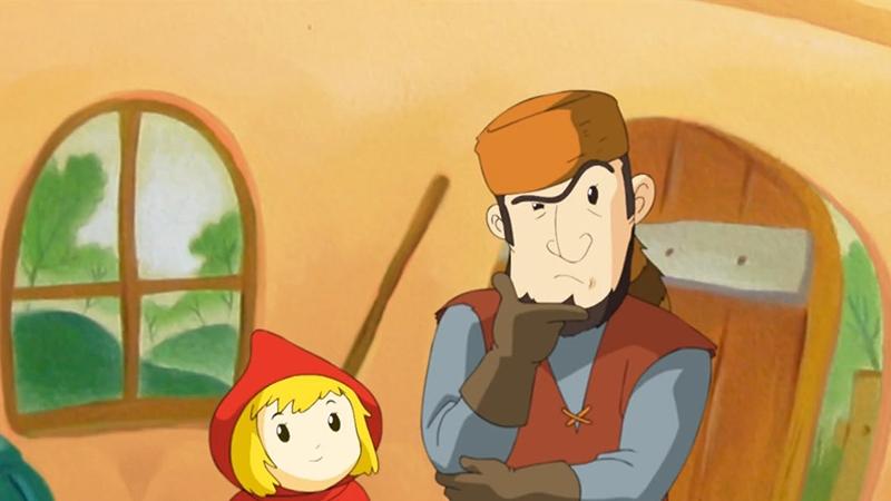 Một cảnh trong phim 'Little Red Riding Hood'