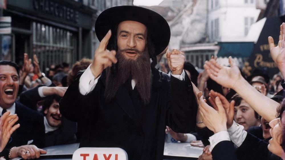 Hai người giả dạng hai giáo sĩ Do Thái không chỉ để trốn tránh bọn sát thủ trong phim ''The Mad Adventures Of 'Rabbi' Jacob''