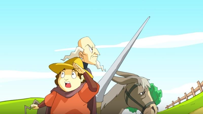 Một cảnh trong phim 'Don Quixote'