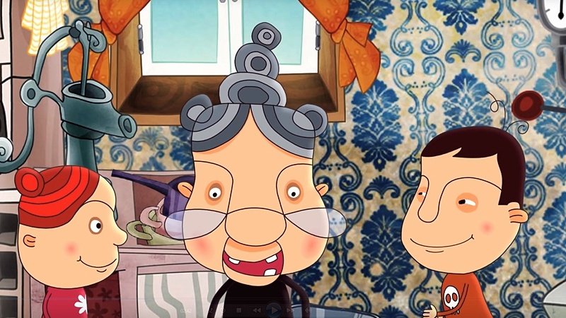 Một cảnh trong phim 'Waffles, Butch & Granny'