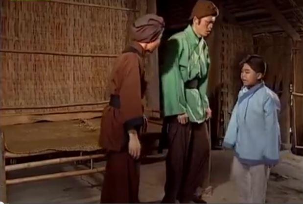 Một cảnh trong phim Tiều Phu Bỏ Mẹ