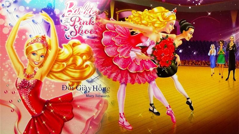 Barbie - Đôi giày hồng