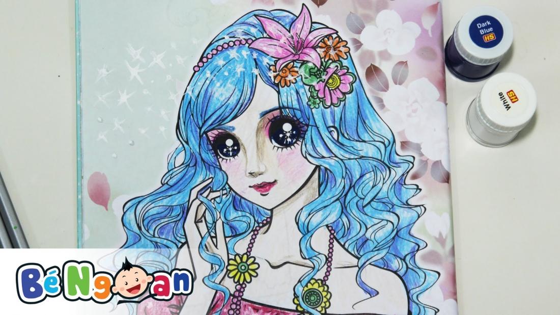 Tô màu công chúa sành điệu 1