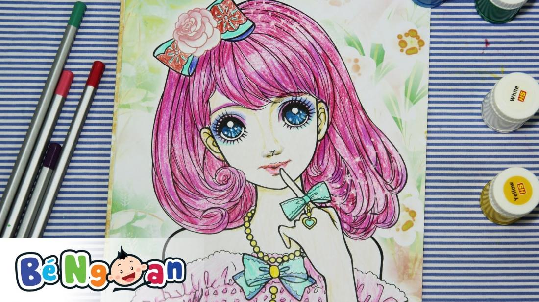 Tô màu công chúa sành điệu 2