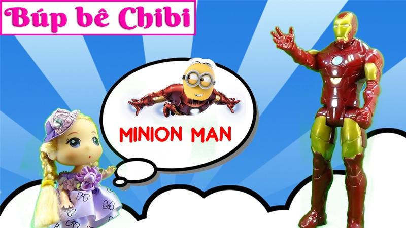 Chibi giới thiệu siêu anh hùng 1