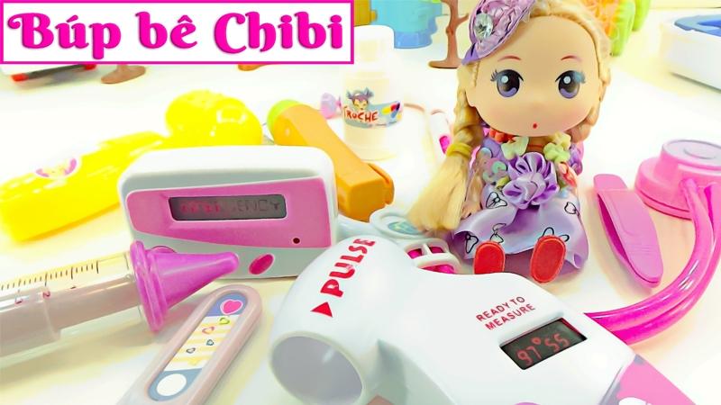 Chibi giới thiệu đồ chơi bác sĩ