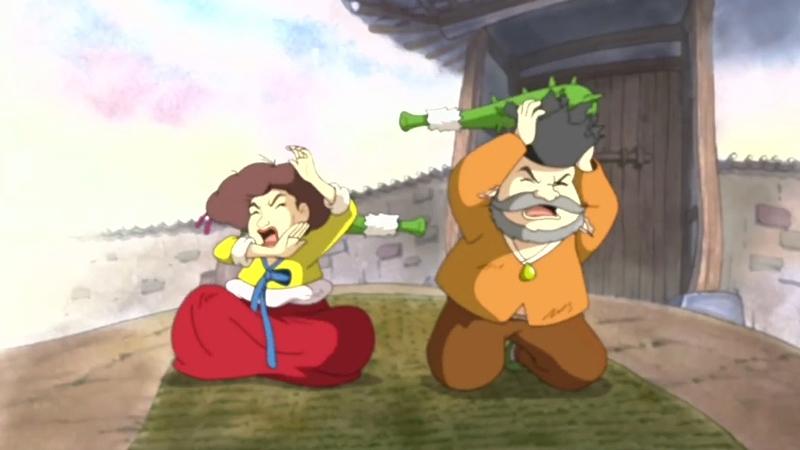 Một cảnh trong phim 'Heungbu and Nolbu'