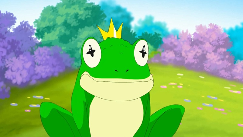 Một cảnh trong phim 'The Frog Prince'