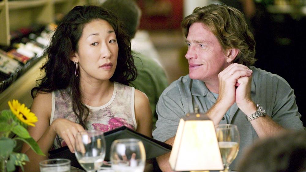 Cả hai dường như chỉ chú tâm vào uống rượu cho đến khi Miles bị cô nàng Stephanie thu hút