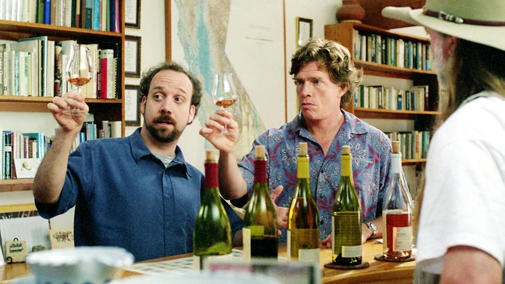 Miles là người sành rượu nho nên đã chỉ cho Jack cách thưởng thức rượu