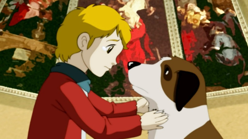 Một cảnh trong phim 'A Dog of Flanders'