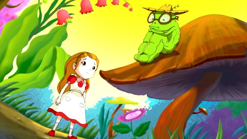 Một cảnh trong phim 'Alice's Adventures in Wonderland'