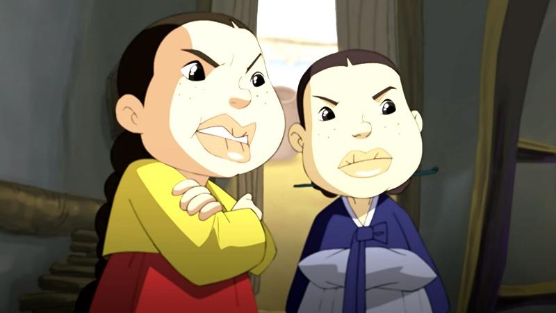 Một cảnh trong phim 'Kongjui and Patjui'