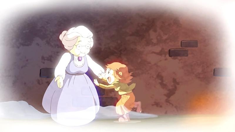 Một cảnh trong phim 'The Little Match Girl'