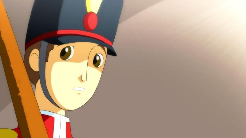 Một cảnh trong phim 'The Steadfast Tin Soldier'