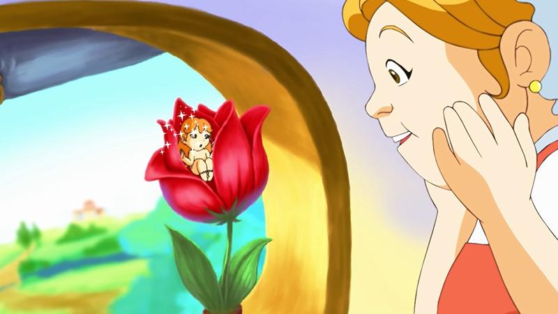 Một cảnh trong phim 'Thumbelina'