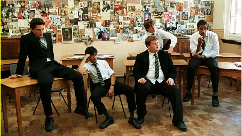 Hình ảnh một tiết học vui nhộn của các chàng trai ưu tú.
