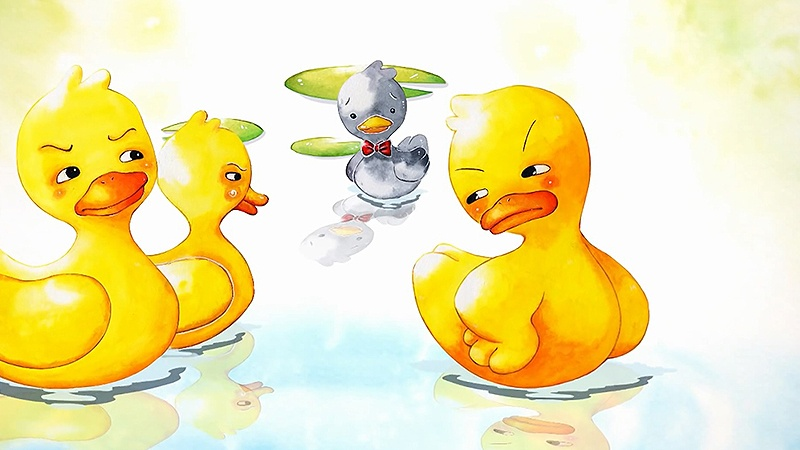 Một cảnh trong phim 'The Ugly Duckling'