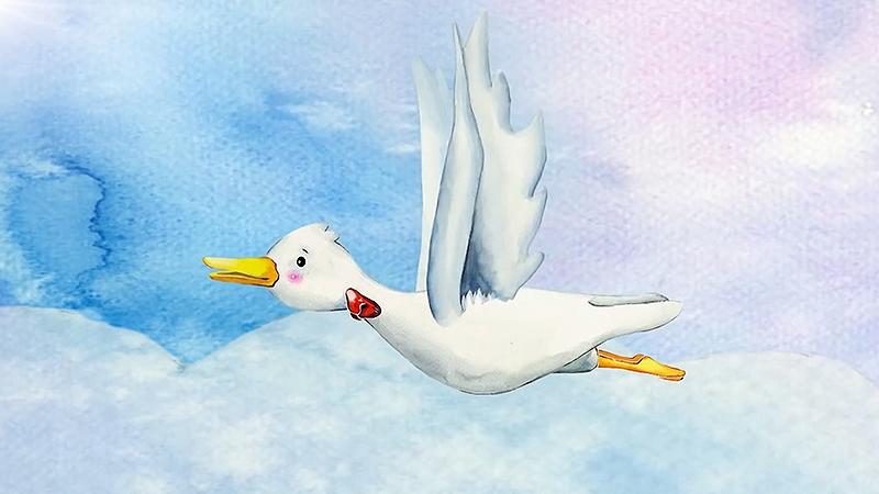 Một cảnh trong phim 'The Ugly Duckling'