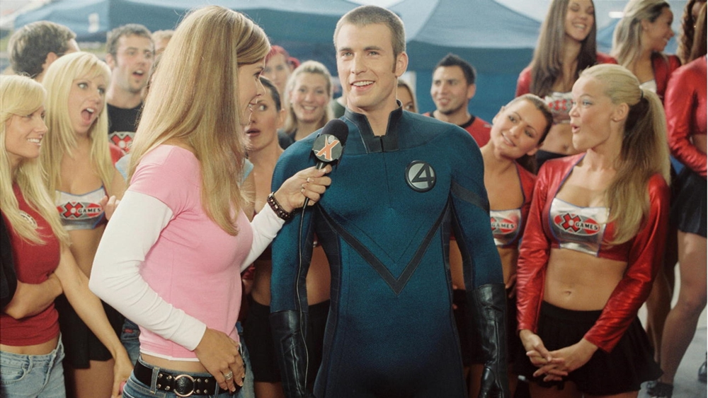 Chris Evans đảm nhận vai Human Torch trong phim ''Fantastic Four''