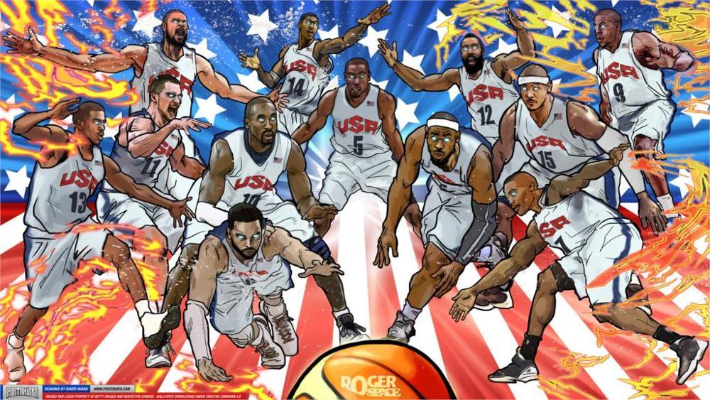 Tuyển bóng rổ Mỹ.