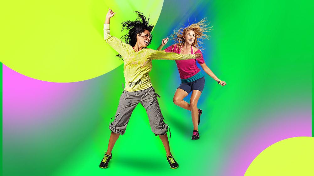 Zumba là kiểu nhảy trẻ trung, sôi động.