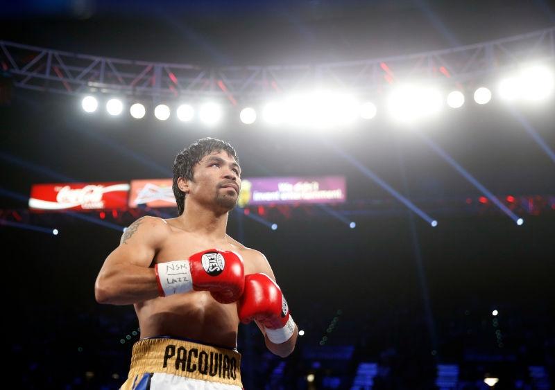 Tay đấm lừng danh Manny Pacquiao.