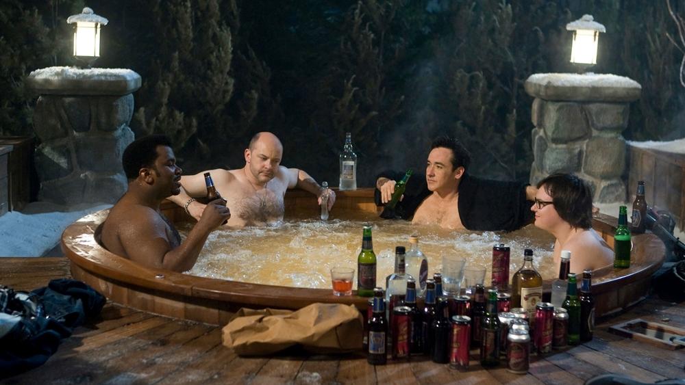 Họ rủ nhau tới một khu nghỉ dưỡng để xả stress nnhuwngvuowngs phải rắc rối với chiếc bồn tắm thời gian.