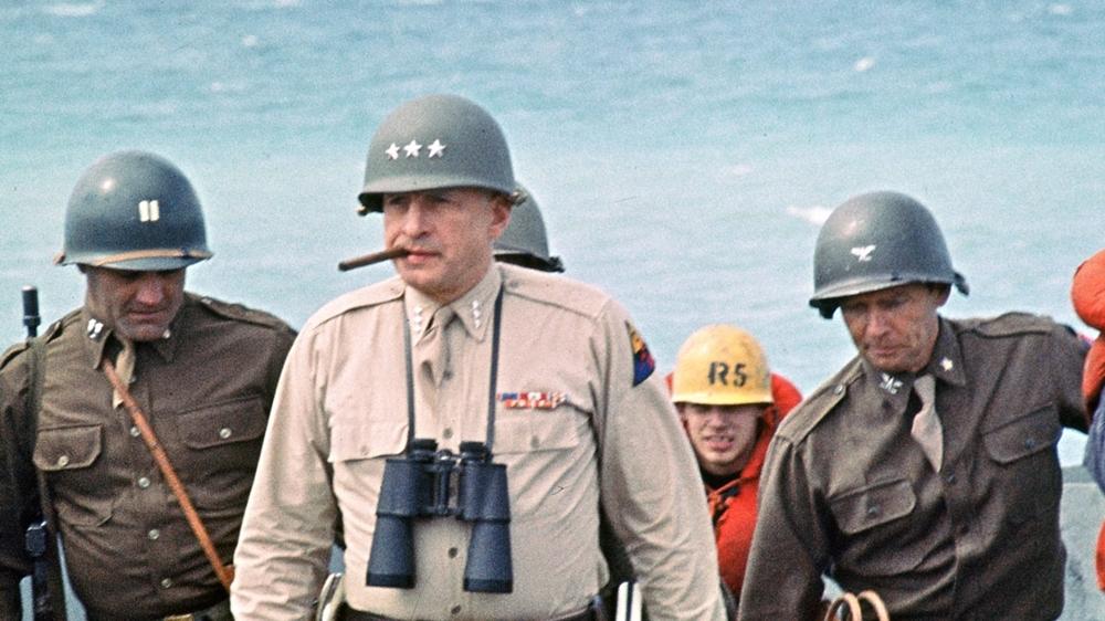 Một phân cảnh khác trong phim ''Patton''