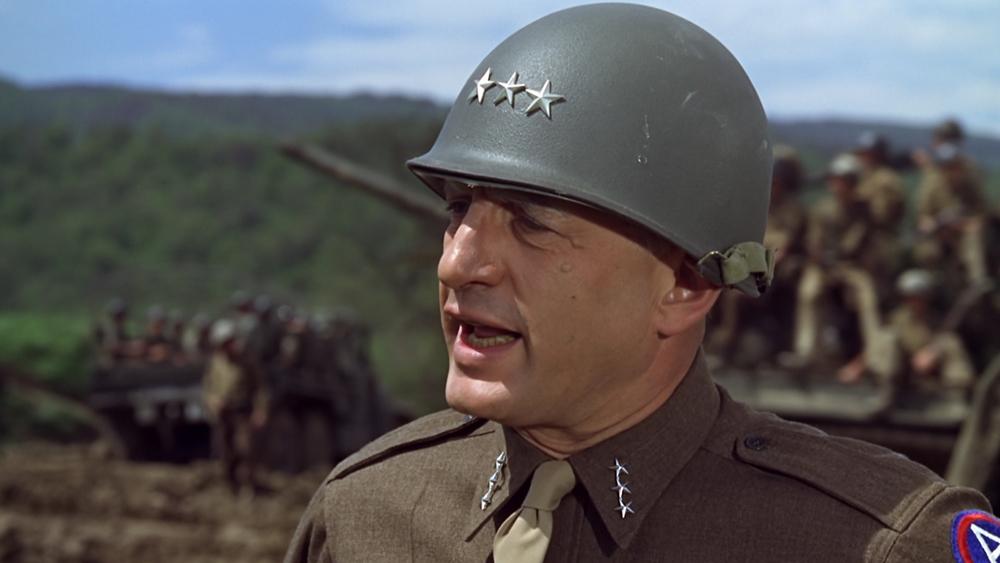 ''Patton'' là câu chuyện về cuộc đời chiến binh oai hùng của Tướng George S. Patton Jr.