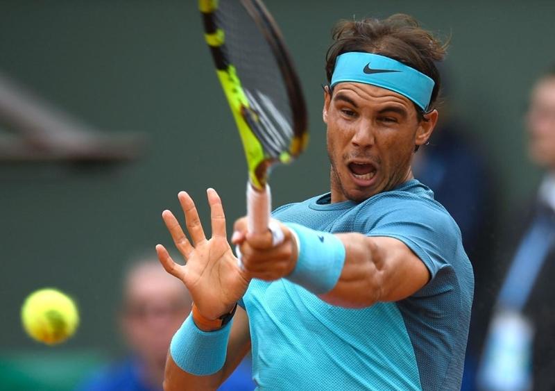 Tay vợt người Tây Ban Nha Rafael Nadal.