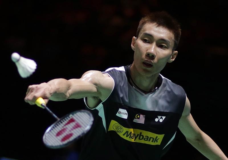 Tay vợt của Malaysia Lee Chong Wei.