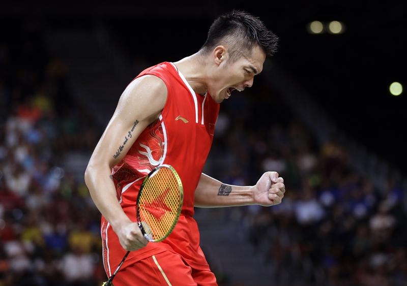 Tay vợt số 1 thế giới Lin Dan.