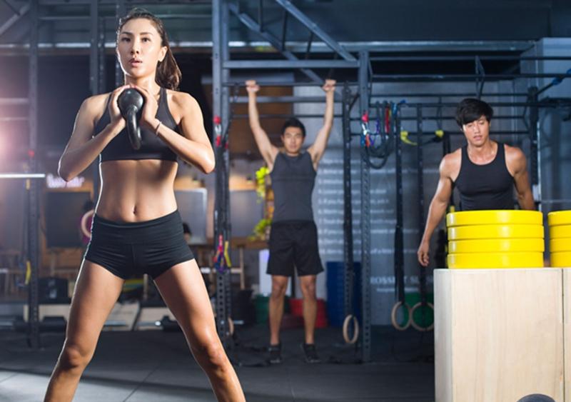 Gym là loại hình tập luyện không chỉ dành cho phái nam, mà còn dành cho nữ.