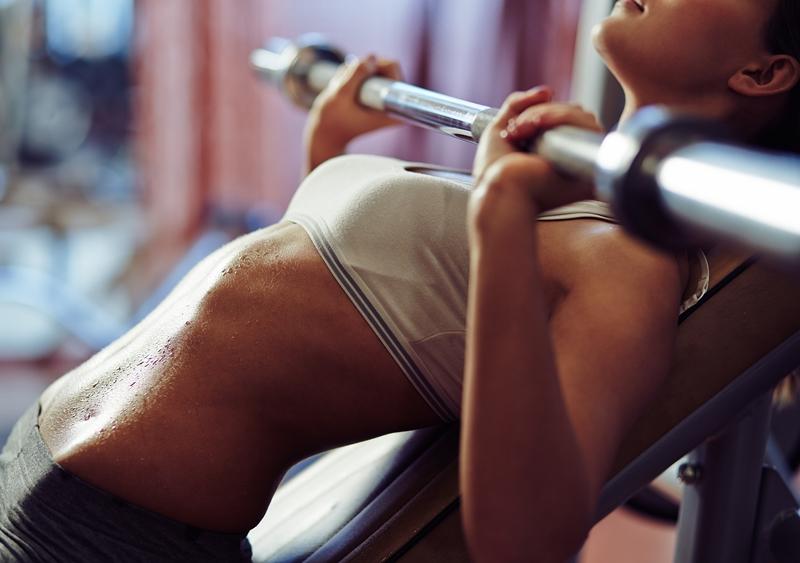 Tập gym là cách để có được vóc dáng ưng ý chỉ sau khoảng thời gian ngắn.