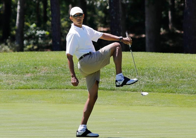 Tổng thống Barack Obama là người có niềm đam mê cuồng nhiệt đối với thể thao.