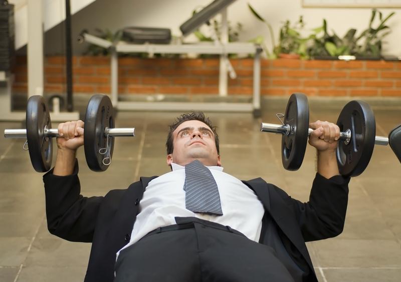 Tập luyện thể thao nơi công sở là cách tốt để rèn luyện sức khoẻ và tiết kiệm được thời gian.