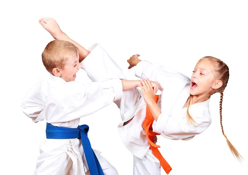 Karate và trẻ em.