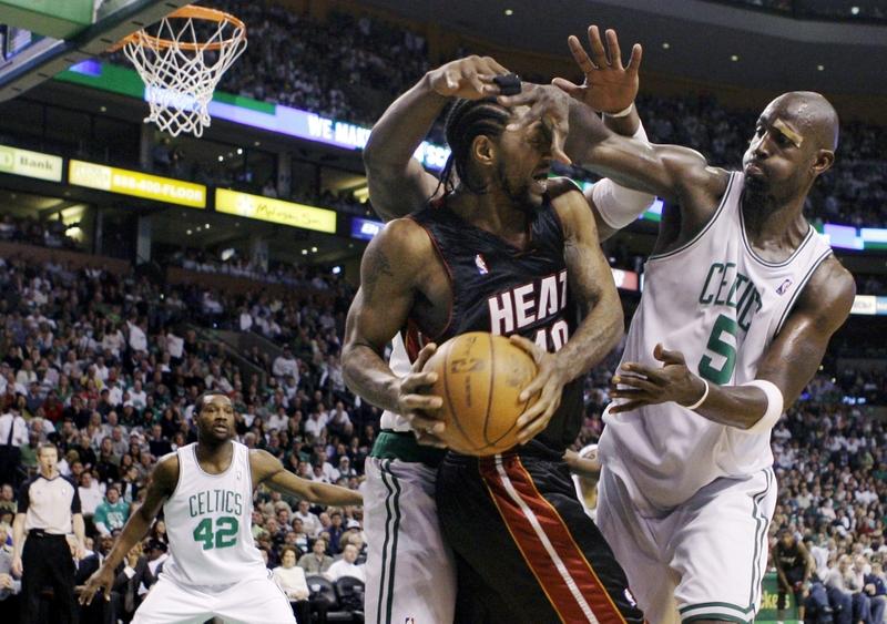 Một trận đấu bóng rổ tại NBA.