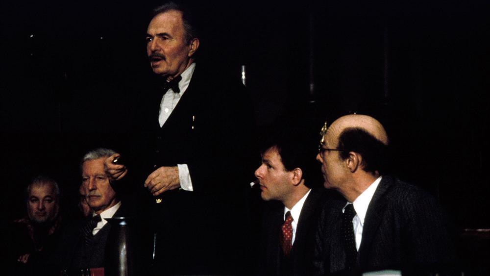 Một phân cảnh khác trong phim ''The Verdict''.