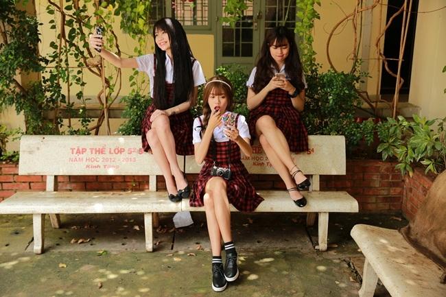 ''Sửu Nhi'' quy tụ dàn hot girl: Thanh Trần (Hạ Vân), Trâm Ngô (Hạ Vy), Đỗ Khánh Vân (Hạ Mây).